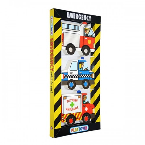 Playtown Chunky Pack : Emergency (Board book)