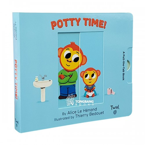 Pull and Play Books : Potty Time! (Board book)