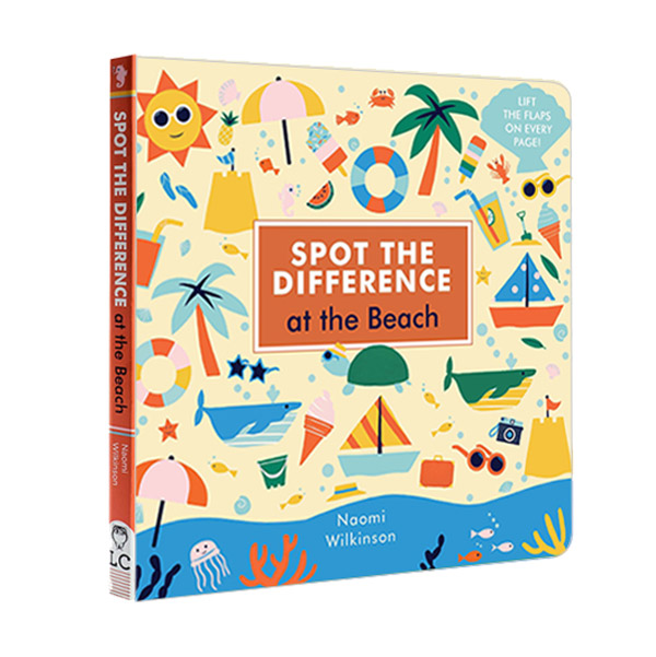Spot the Difference : At the Beach (Board book, 영국판)