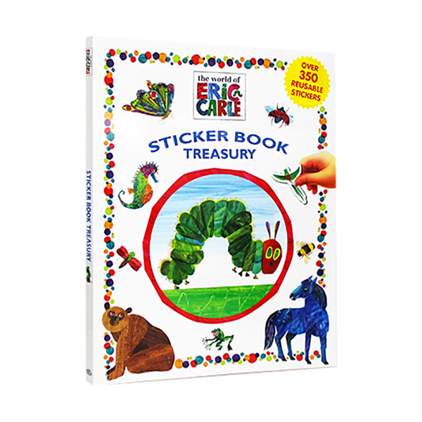 Sticker Book Treasury : The World of Eric Carle (Paperback, 영국판)