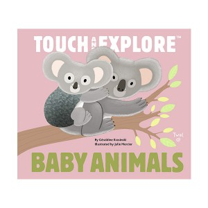 Touch and Explore : Baby Animals (Board book)