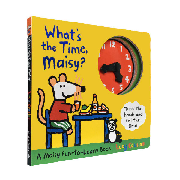 What's the Time, Maisy? (Board book, 영국판)