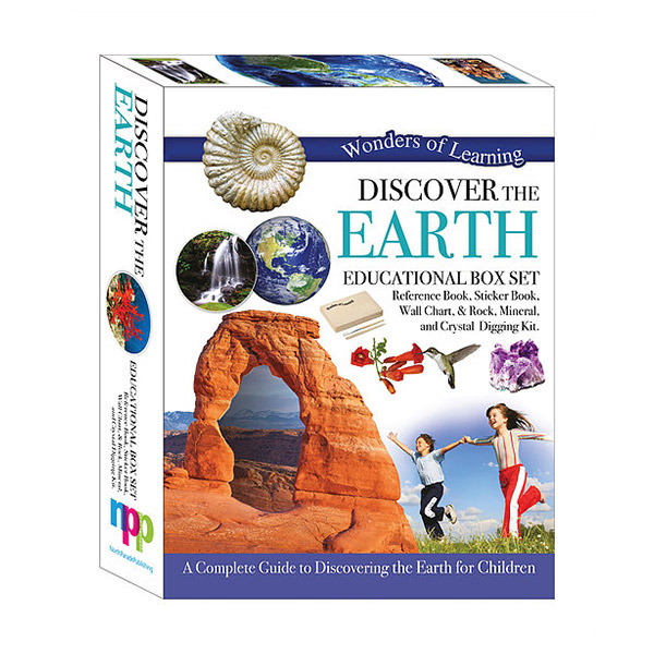 Wonders of Learning : Discover The Earth - Educational Box Set (Hardcover)