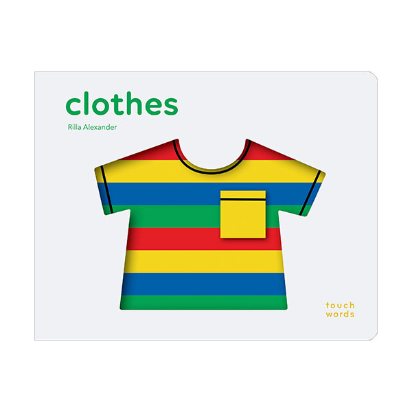 Touch Words : Clothes (Board book)