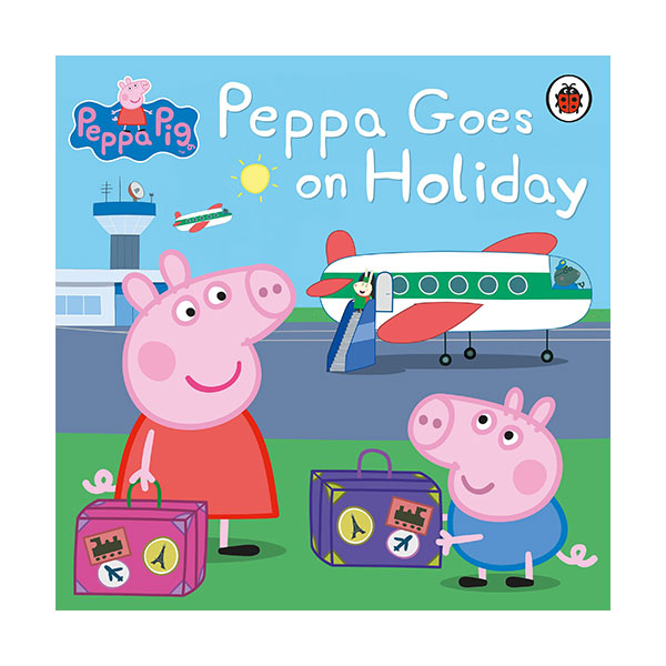 ★키즈코믹콘★Peppa Pig : Peppa Goes on Holiday (Paperback)