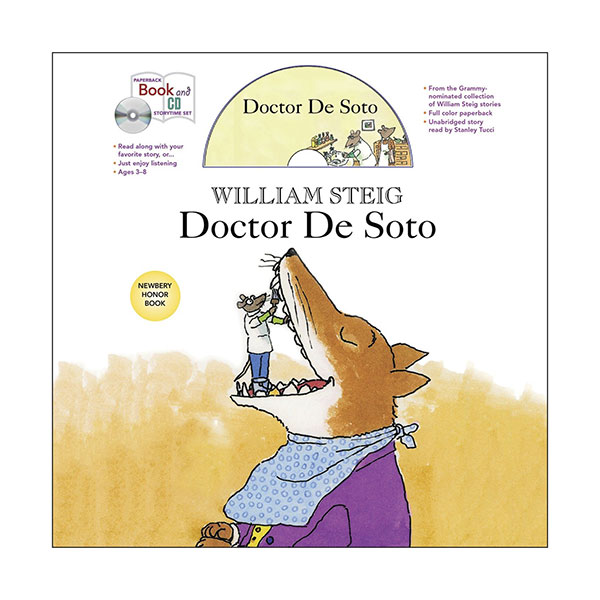 RL 3.6 : Doctor De Soto (Book & CD)