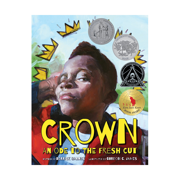 [2018 칼데콧 & 뉴베리] RL 3.8 : Crown: An Ode to the Fresh Cut (Hardcover, Caldecott & Newbery)