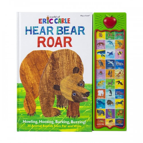 Eric Carle : Hear Bear Roar (Hardcover, Sound Book)