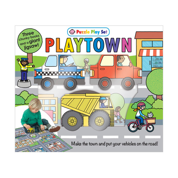 Puzzle Play Set : Playtown (Board book)