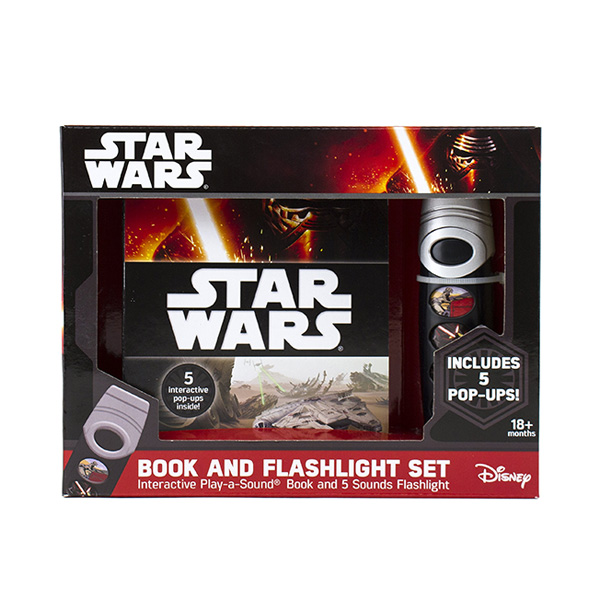 [가격인하] Star Wars : Book & Flashlight Set (Hardcover, Sound Book)
