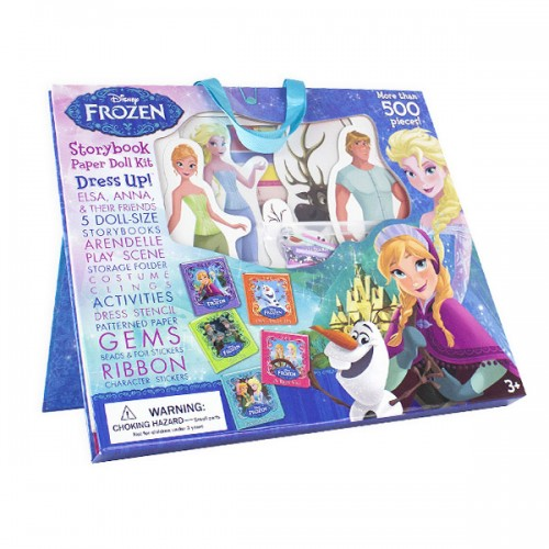 Disney Frozen : Paper Doll Kit (Hardcover)