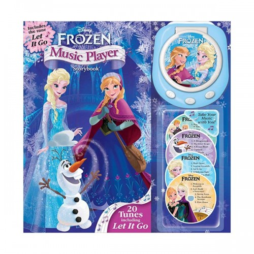 Disney Frozen Music Player Storybook (Hardcover)
