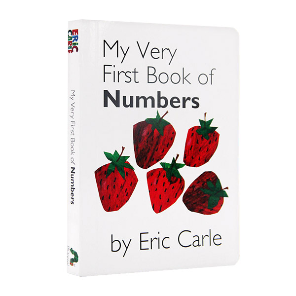 My Very First Book of Numbers by Eric Carle (Boardbook)