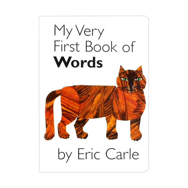 My Very First Book of Words by Eric Carle (Boardbook)