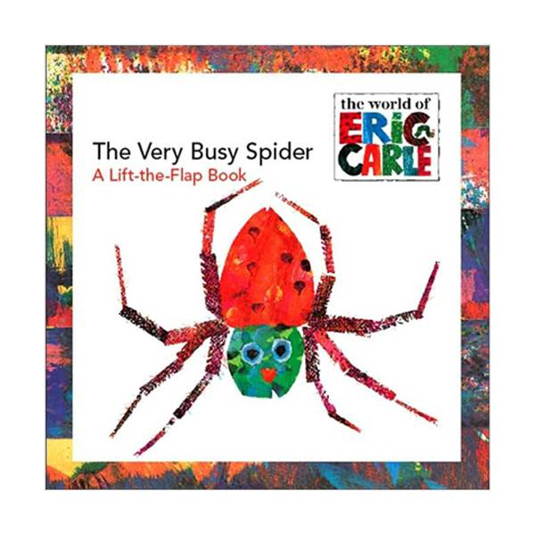 RL 1.3 : The Very Busy Spider: A Lift-the-Flap Book (Paperback)