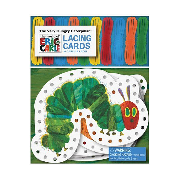 The World of Eric Carle : The Very Hungry Caterpillar Lacing Cards (Cards)