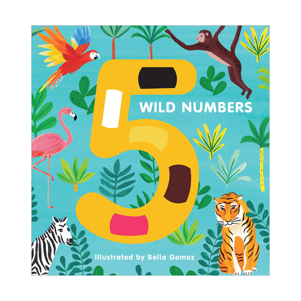 5 Wild Numbers (Board book, 영국판)