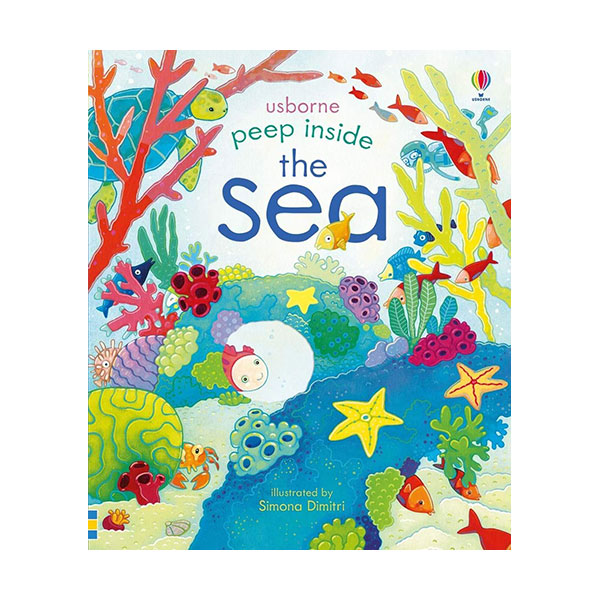 Usborne Peep Inside : The Sea (Board book, 영국판)