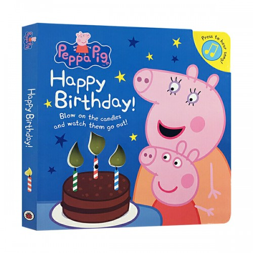 ★키즈코믹콘★Peppa Pig : Happy Birthday! (Board book, 영국판)