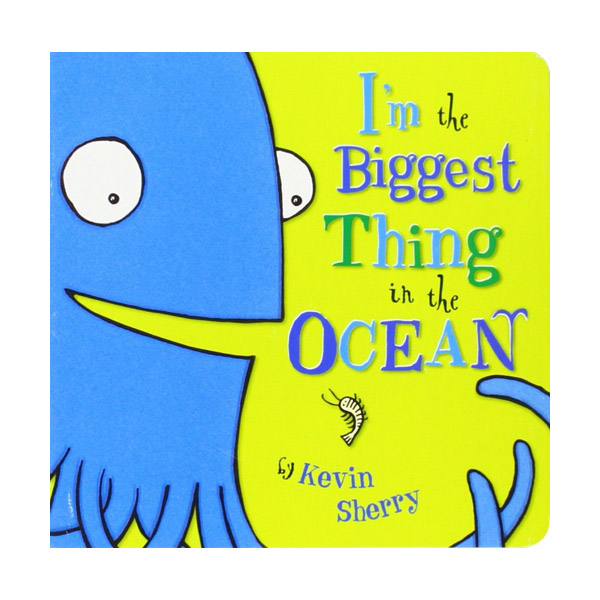 ☆윈터세일☆ I'm The Biggest Thing in the Ocean! (Board Book)