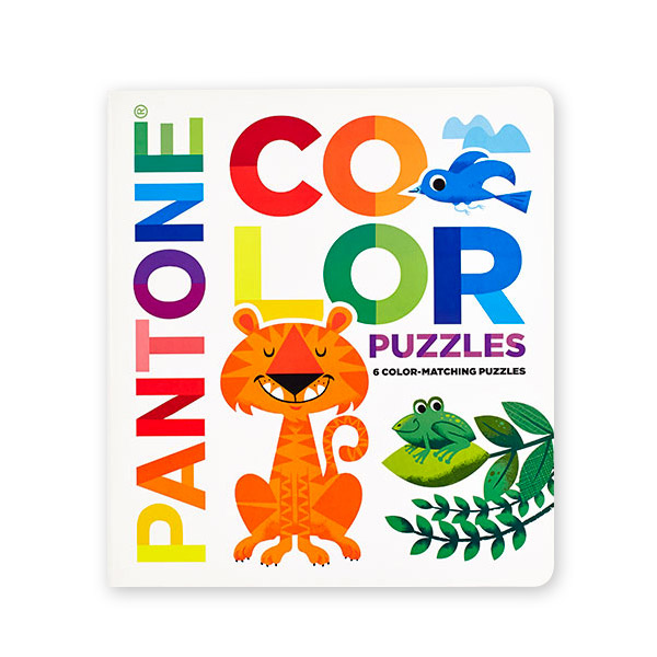 Pantone : Color Puzzles : 6 Color-Matching Puzzles (Board book)