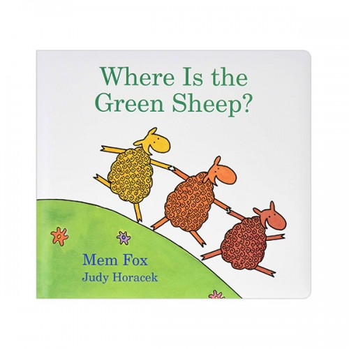 Where Is the Green Sheep? (Board book)