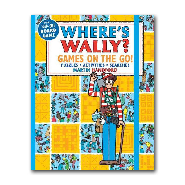 Where's Wally? : Games on the Go! Puzzles, Activities & Searches (Paperback)