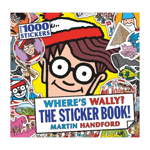 Where's Wally? The Sticker Book! (Paperback)