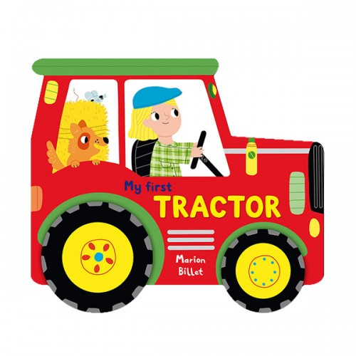 Whizzy Wheels : My First Tractor (Board book, 영국판)