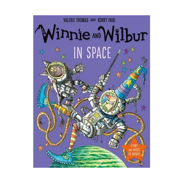 Winnie and Wilbur : In Space (Book&CD, 영국판)