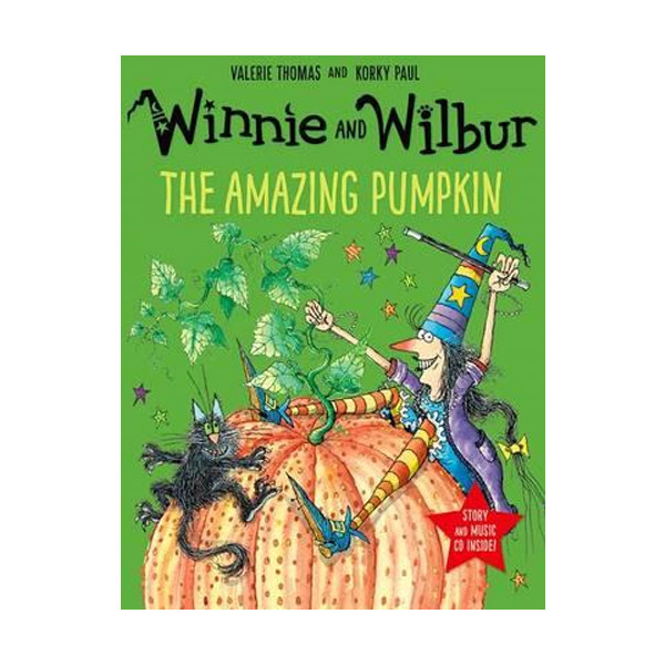 Winnie and Wilbur : The Amazing Pumpkin (Paperback & CD, 영국판)