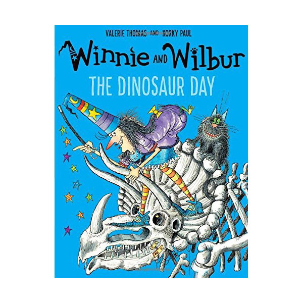 Winnie and Wilbur : The Dinosaur Day (Paperback, 영국판)