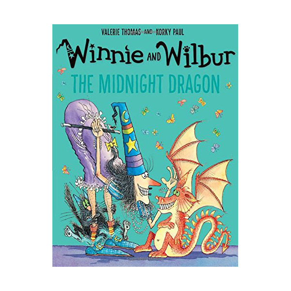 Winnie and Wilbur : The Midnight Dragon (Paperback, 영국판)