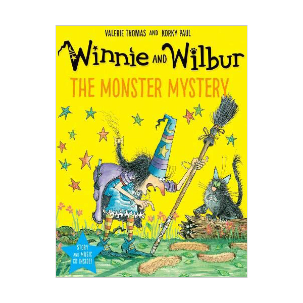 Winnie and Wilbur : The Monster Mystery (Book & CD, 영국판)