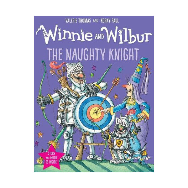Winnie and Wilbur : The Naughty Knight (Paperback & CD, 영국판)
