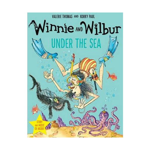 Winnie and Wilbur : Under the Sea (Paperback & CD, 영국판)