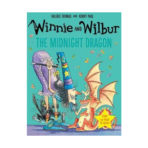 Winnie and Wilbur: The Midnight Dragon (Book&CD, 영국판)