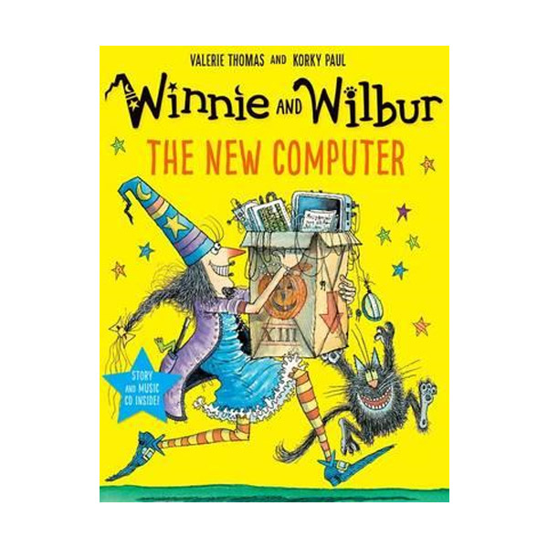 Winnie and Wilbur : The New Computer (Paperback & CD, 영국판)