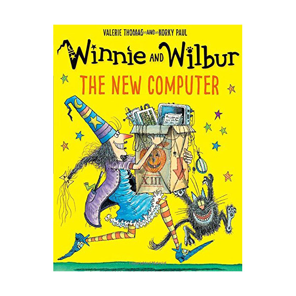 Winnie and Wilbur: The New Computer (Paperback, 영국판)