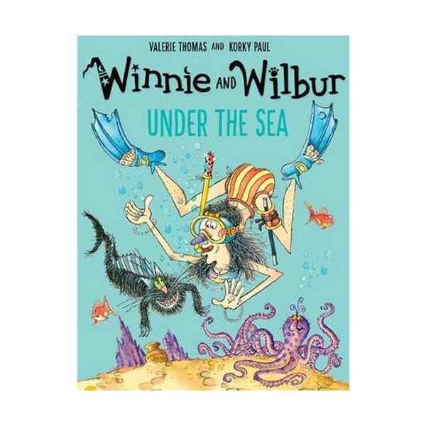 Winnie the Witch 픽쳐북 : Winnie and Wilbur Under the Sea (Paperback, 영국판)