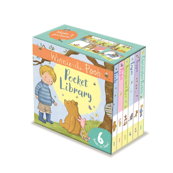 Winnie-the-Pooh Pocket Library (Board Book, 영국판)