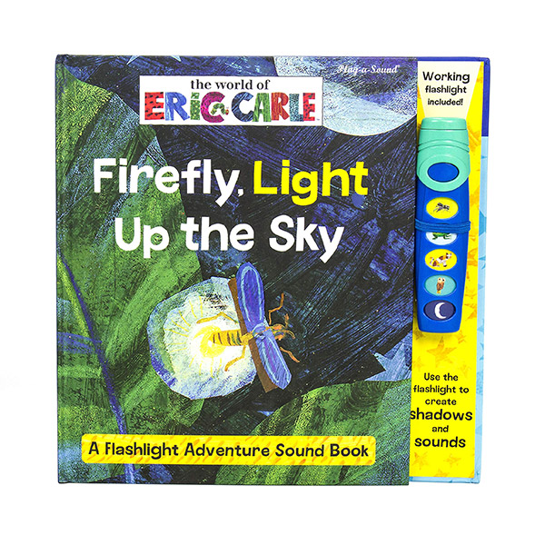 World Of Eric Carle : Firefly Light Up The Sky : A Flashlight Adventure Sound Book (Hardcover)