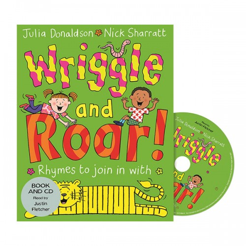 Wriggle and Roar (Book & CD, 영국판)