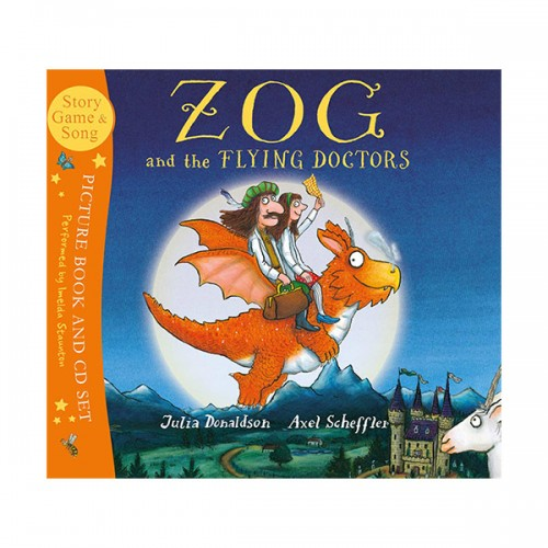 Zog and the Flying Doctors (Book and CD, 영국판)