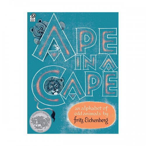 [1953 칼데콧] Ape in a Cape: An Alphabet of Odd Animals (Paperback, Caldecott)