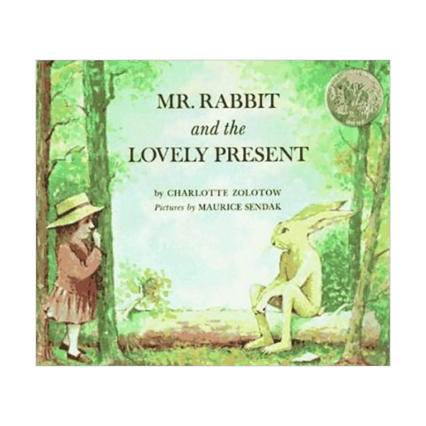[1963 칼데콧] Mr. Rabbit and the Lovely Present (Paperback, Caldecott)