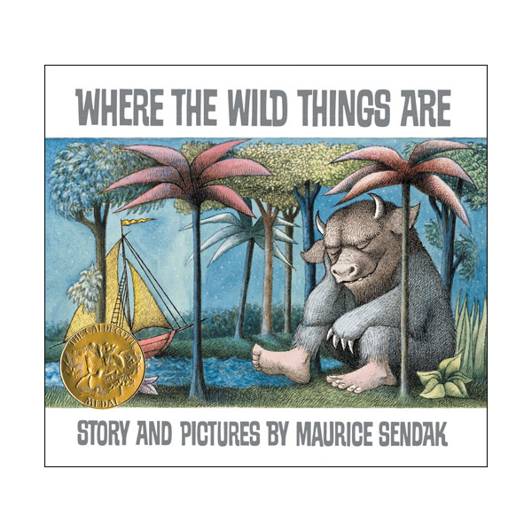 [1964 칼데콧] RL 3.4 : Where the Wild Things Are (Paperback, Caldecott)