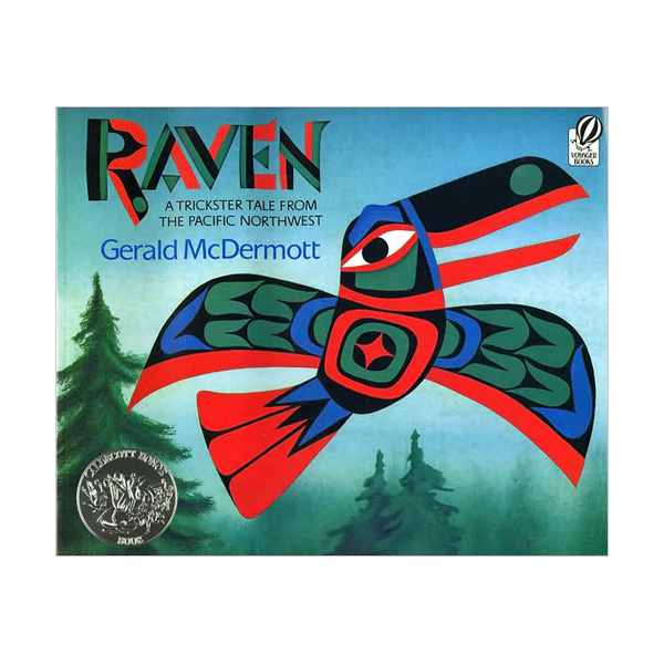 [1994 칼데콧] RL 2.5 : Raven: A Trickster Tale from the Pacific Northwest (Paperback, Caldecott)