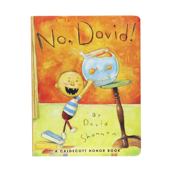 [1999 칼데콧] No David! (Board Book)
