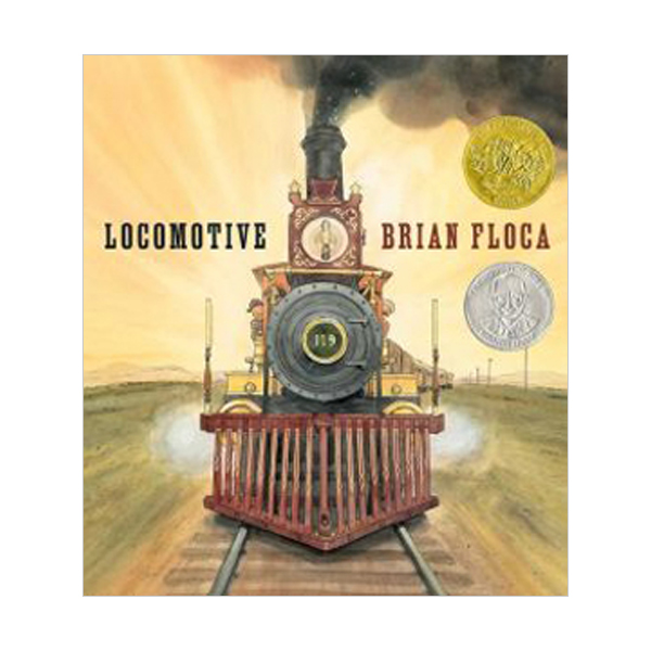 [2014 칼데콧] Locomotive (Hardcover, Caldecott )